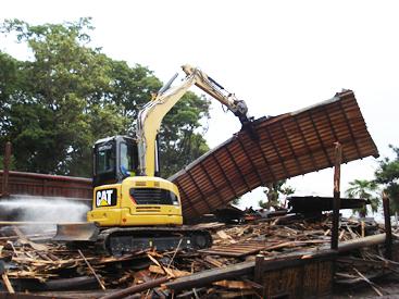 一般住宅解体工事